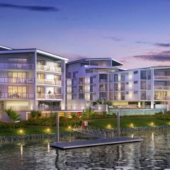 Riverfront Residences brings luxury living to the Carrara waterfront