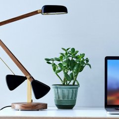 The self-balancing lamp bringing sleek, chic design to the table
