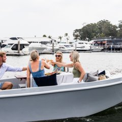 Ahoy, mates! Eco-friendly electric picnic boats by GoBoat to set sail on the Gold Coast this summer