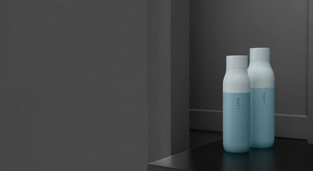 Sip brilliantly with LARQ's self-cleaning water bottle