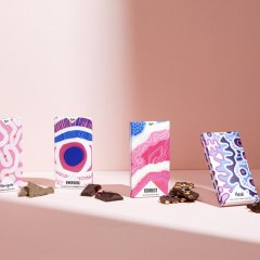 Hey Tiger has teamed up with artist Rachael Sarra for a tastebud-tempting Mother's Day chocolate collection